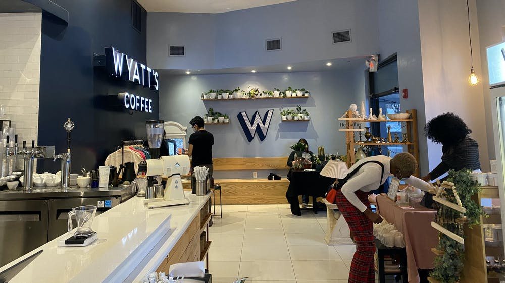 Wyatt's Coffee offered two drink specials for the event.
