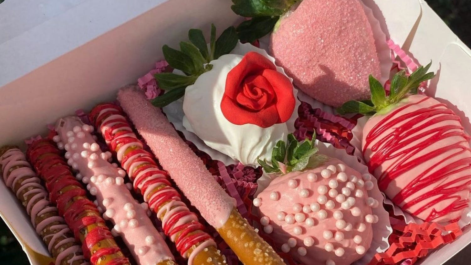 Three UF students founded Sister Sweets & Treats just in time for Valentine's Day.