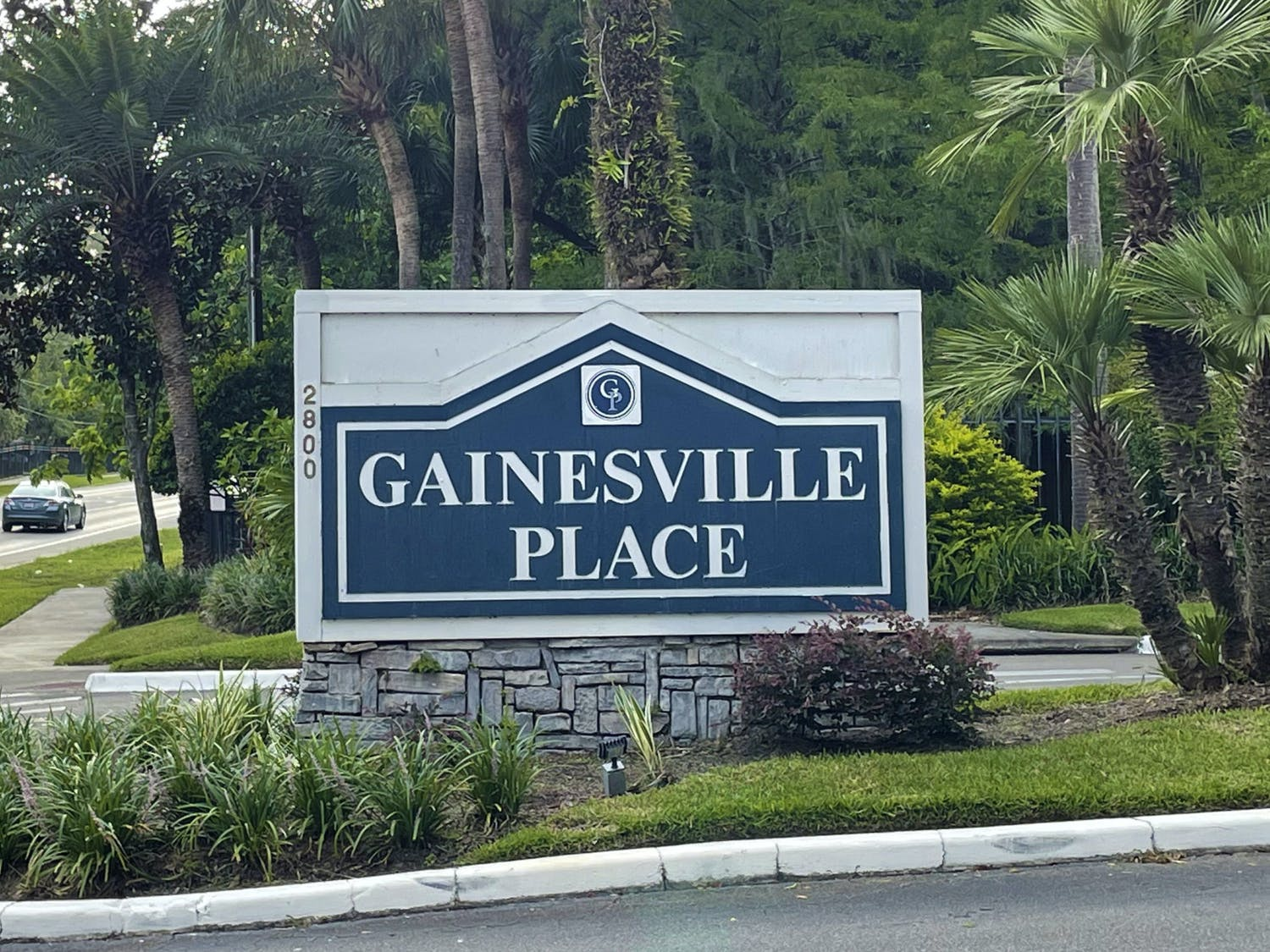 Gainesville Place Apartments, a student housing center, sits on Southwest 35th Place on Wednesday, July 14, 2021.