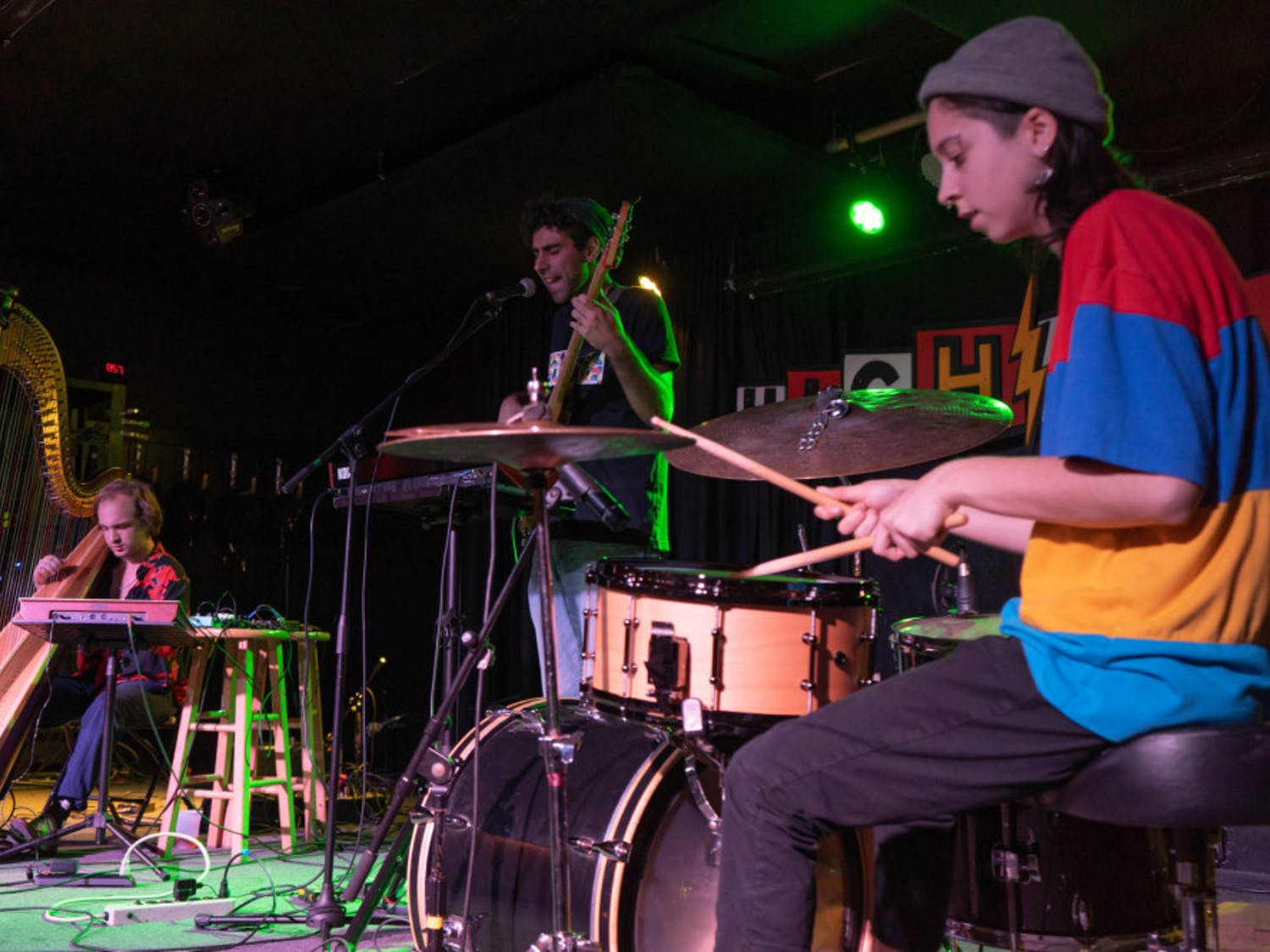 Tanuki Garden Club plays Sunday night at The High Dive as part of the Hearoes for Hearing concert to benefit the hearing impaired.