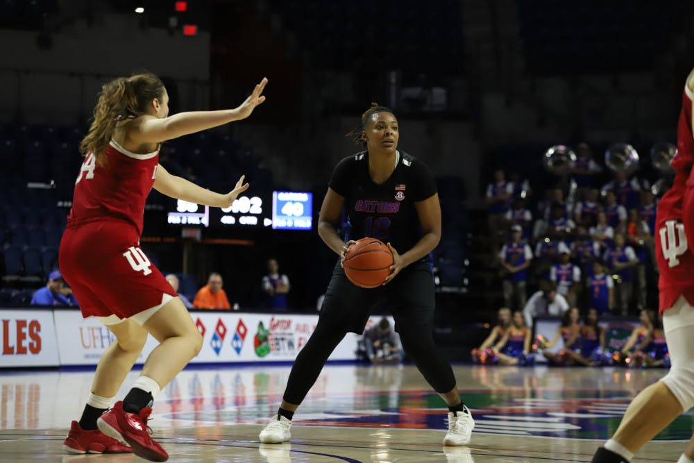 """<p dir=""""ltr"""">Forward Zada Williams scored a career-high 22 points and 19 rebounds against Florida A&amp;M on Sunday.</p>"""