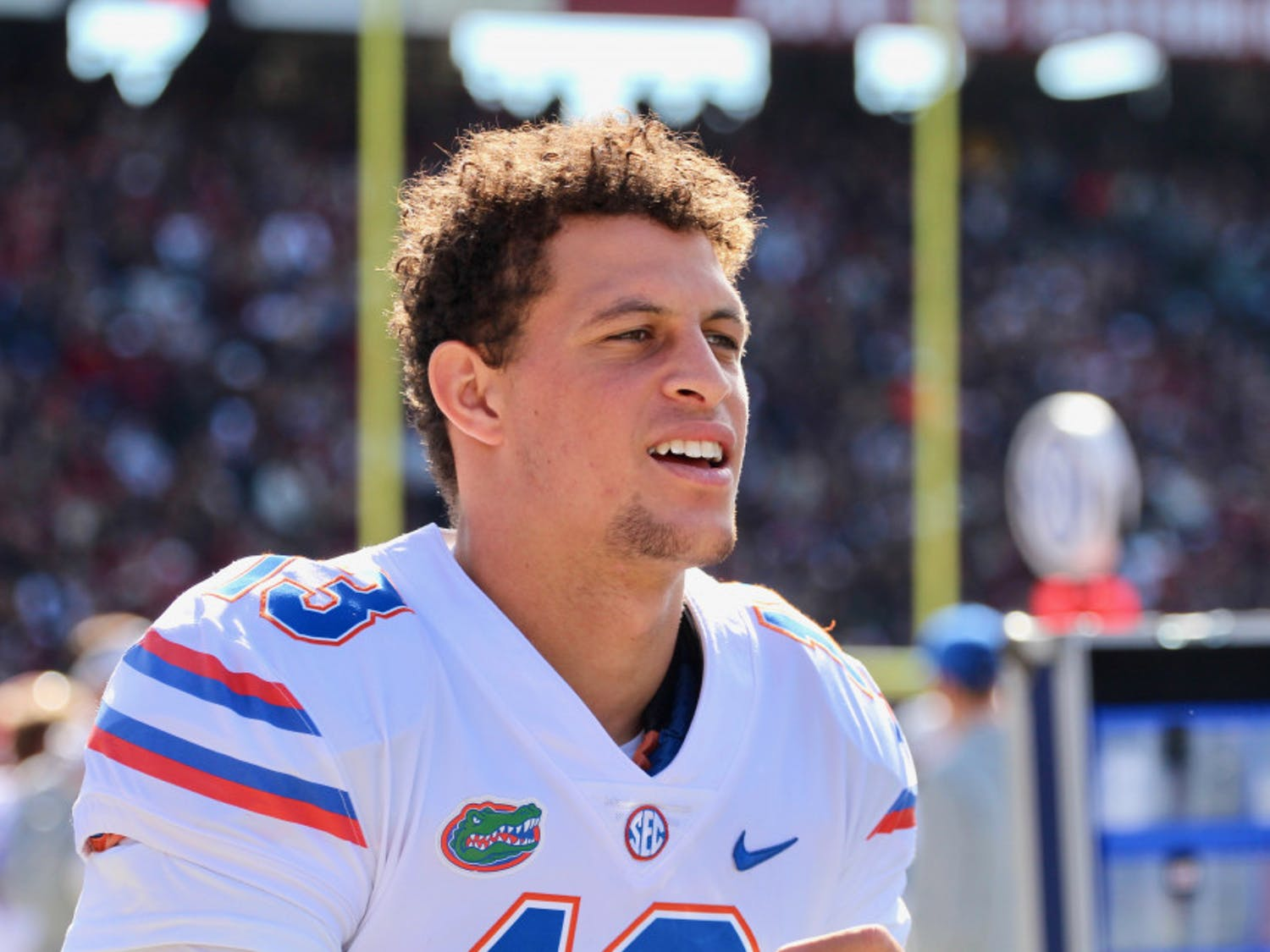 Feleipe Franks threw a career-high three interceptions and also lost one fumble in Florida's 38-22 defeat to Florida State.