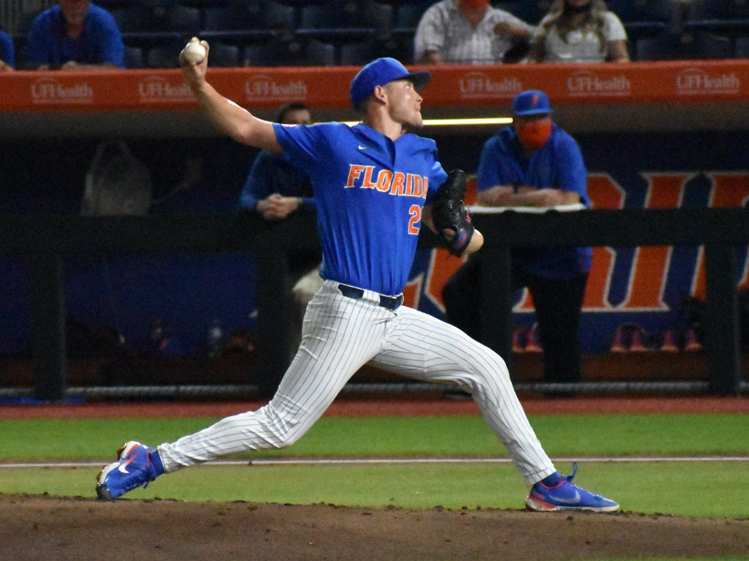 The fourth-year pitcher put on a show Saturday with his first shutout of the year.