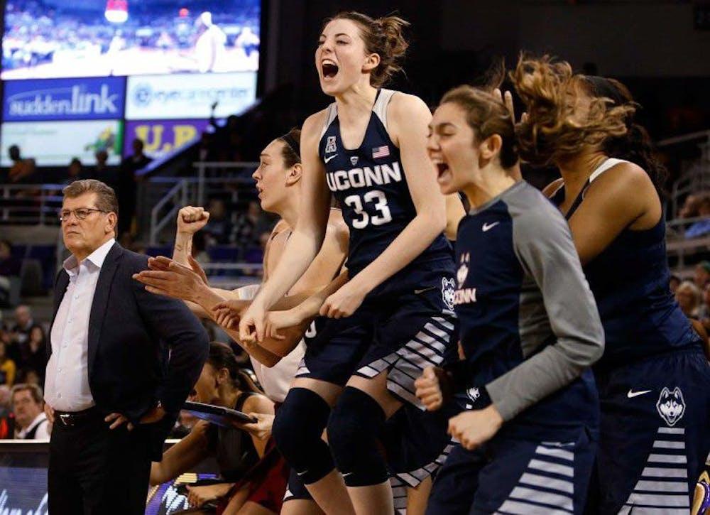 <p>Coach Geno&nbsp;<span>Auriemma and the UConn Huskies have won six of the last nine NCAA Women's Basketball Championships.&nbsp;</span></p>