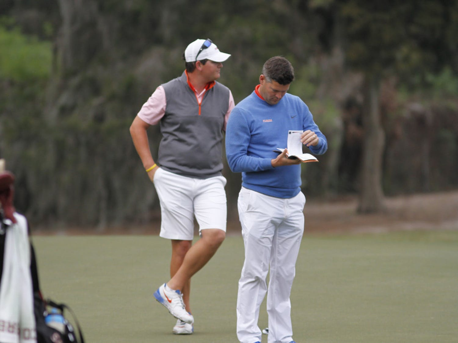 Men's golf coach J.C. Deacon said he was pleased with the way his team is trending and scoring this season.