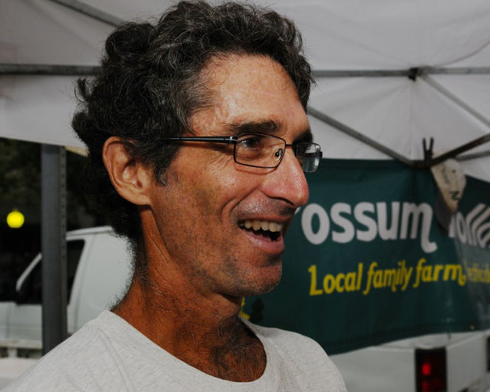 <p>Joe Durando, a two-time UF alumnus, runs the Possum Hollow Farm, located 15 miles north of Gainesville. His produce will be for sale at the Union Street Farmers Market on Wednesdays from 4 to 7 p.m.</p>