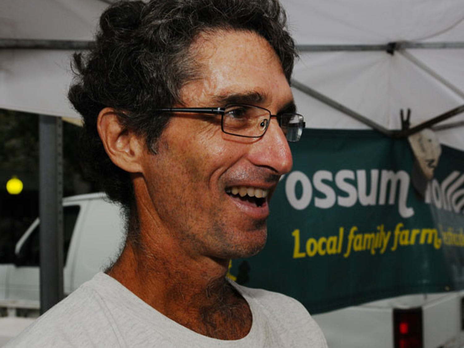 Joe Durando, a two-time UF alumnus, runs the Possum Hollow Farm, located 15 miles north of Gainesville. His produce will be for sale at the Union Street Farmers Market on Wednesdays from 4 to 7 p.m.