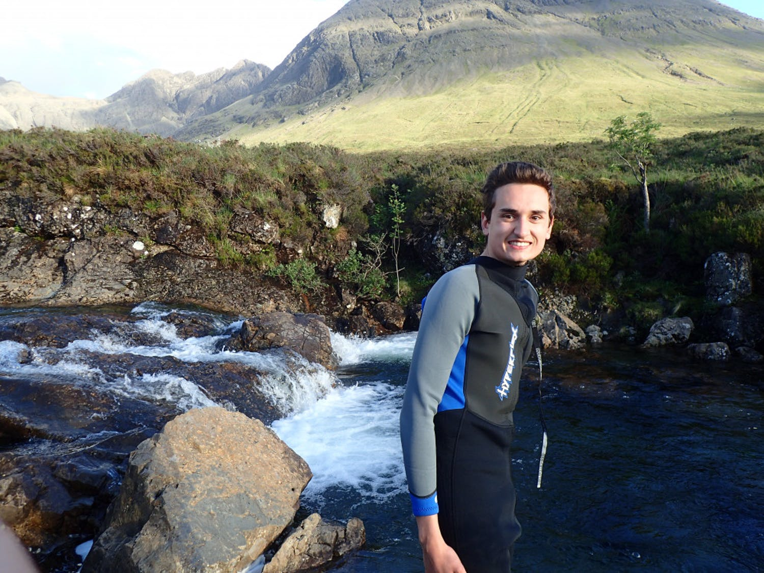 Ian Burns, 20, saw the Fairy Pools tourist attraction in Scotland on May 30. Burns, a UF mechanical engineering and music sophomore, took a six-week trip to Europe over the summer with his twin sisters, Caitlin and Devin, 23.
