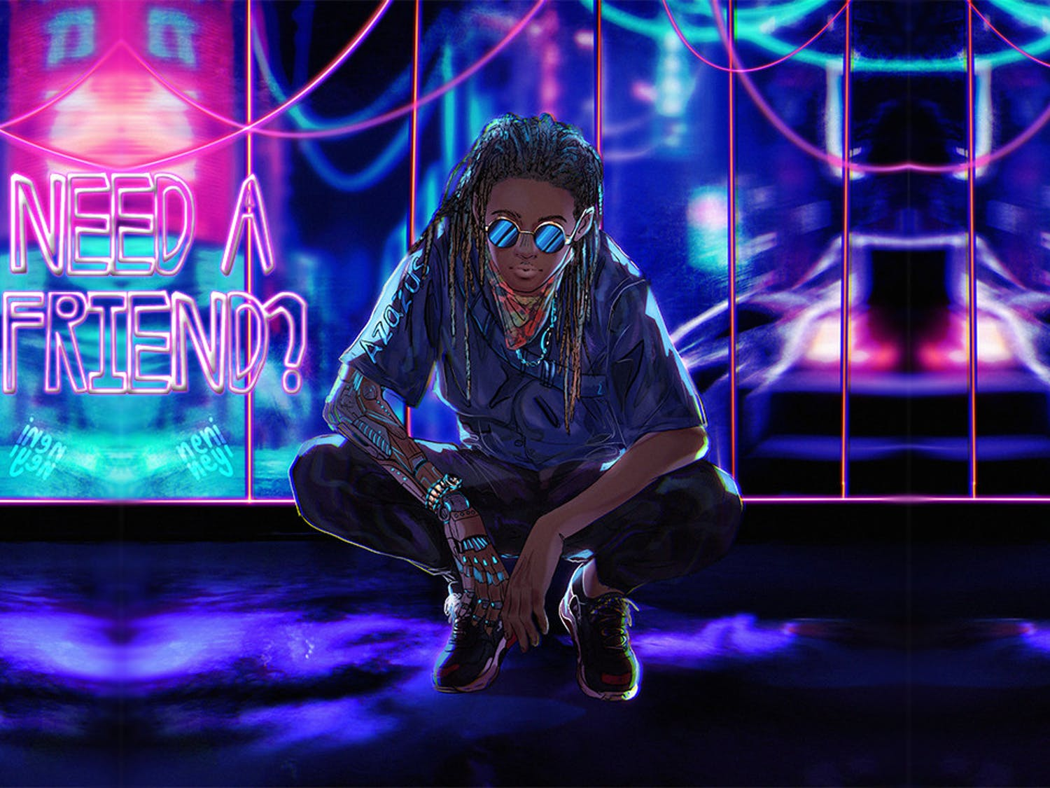 """Gainesville rapper Azazus and cousin and fellow artist Jeshua Oneal released, """"Need A Friend"""" Thursday. With the song, the two are aiming to open a dialogue about mental health and support systems."""