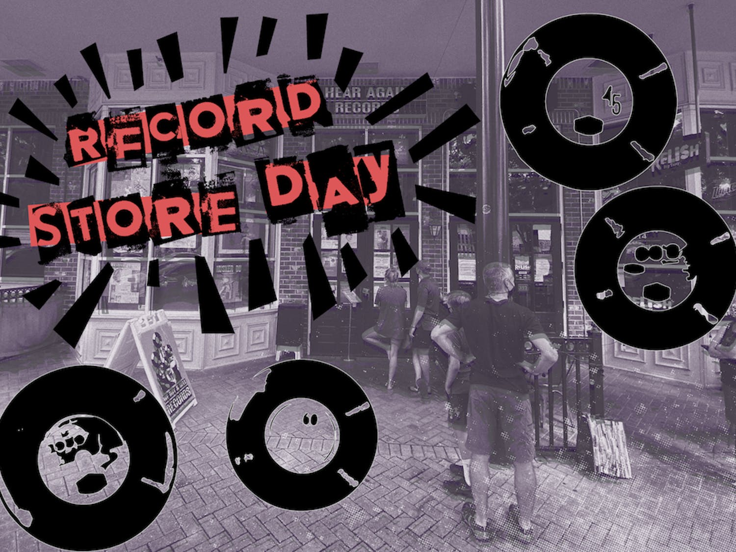 Gainesville's Hear Again Records participated in the first Record Store Day events of the year, Record Store Day Drops.