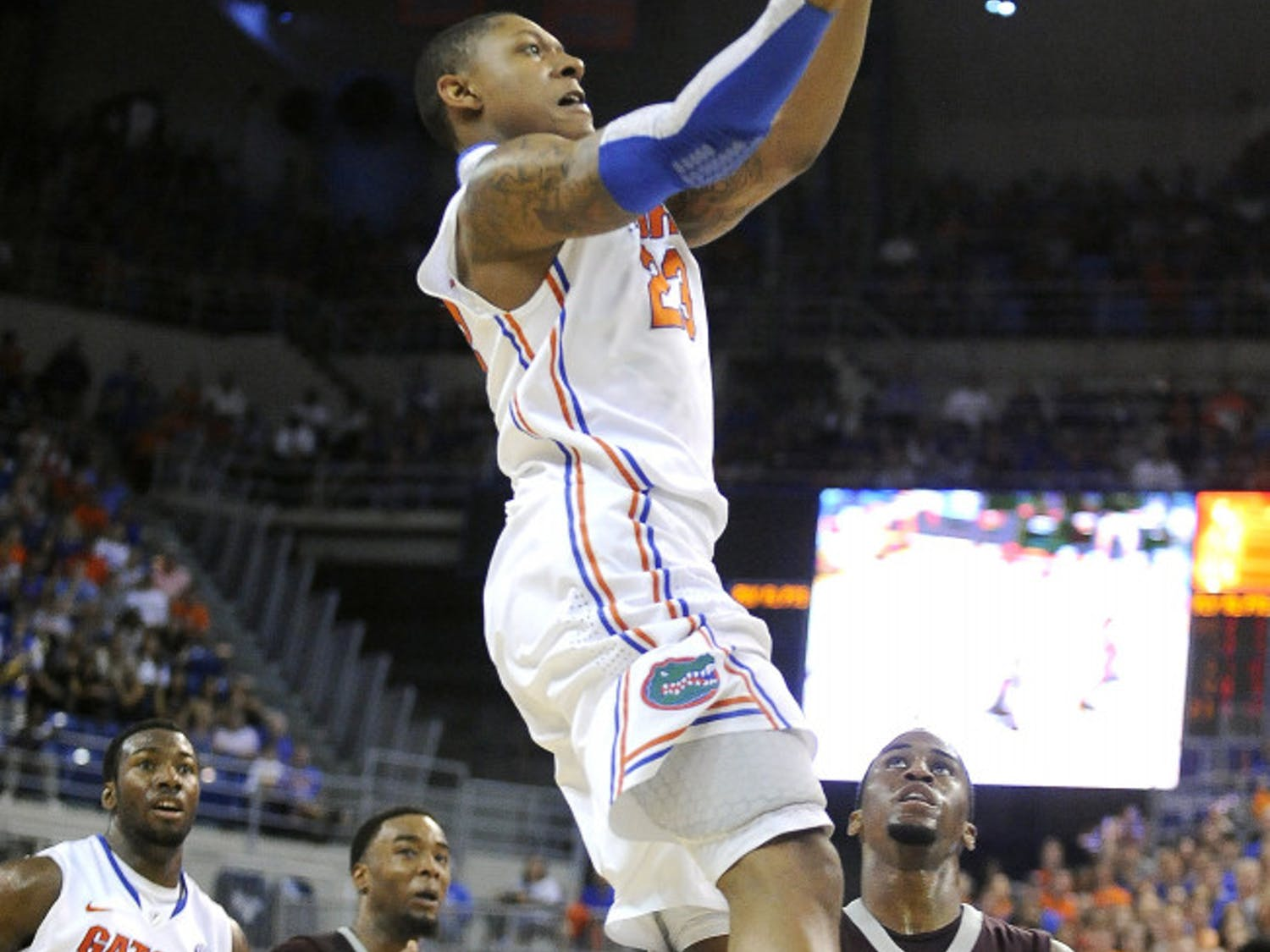 Florida guard Brad Beal declared for the NBA Draft on Monday after a stellar freshman campaign in which he led the Gators in minutes played and rebounding. Beal is projected to be a lottery pick in the June 28 draft.