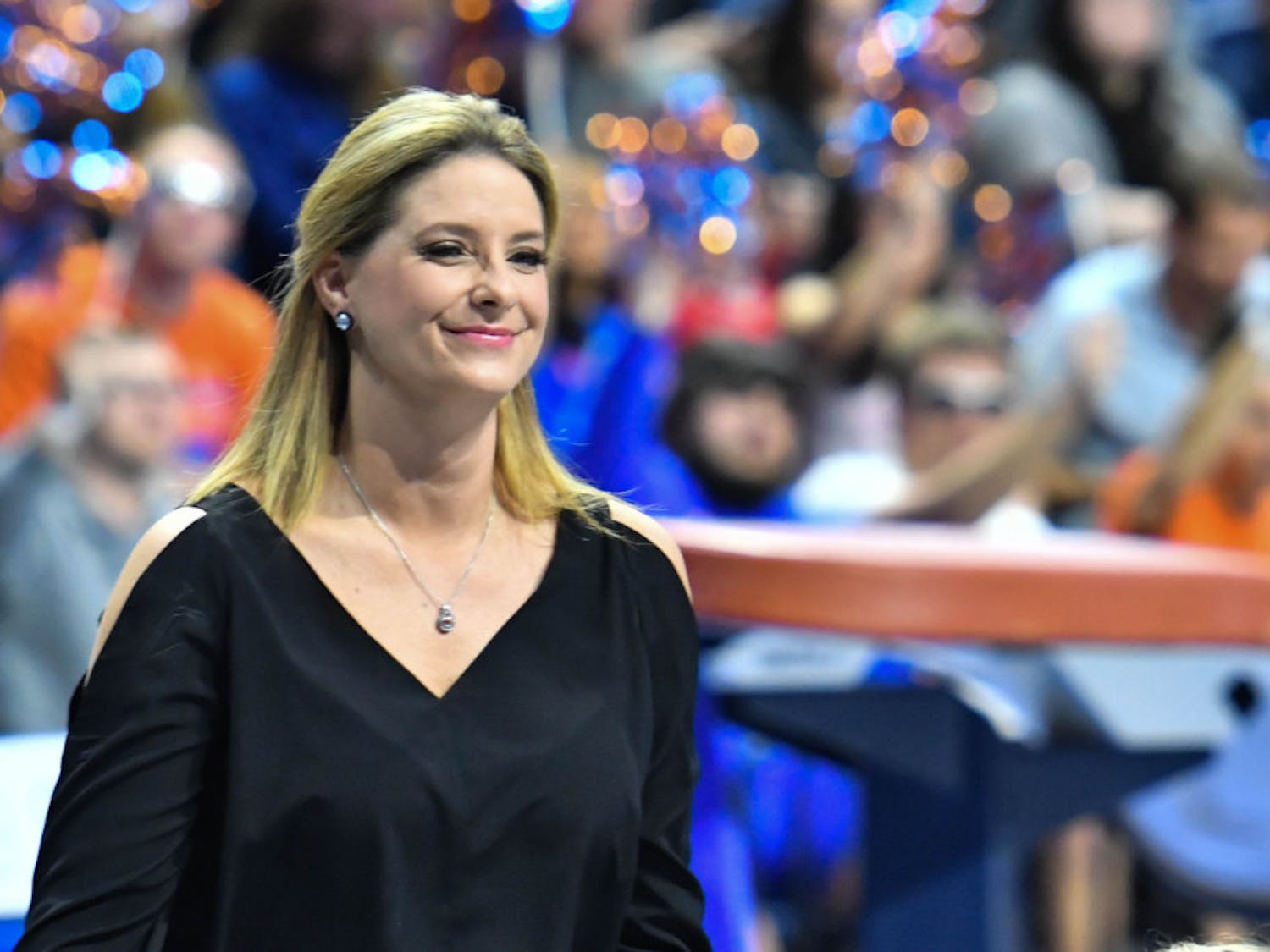 """Coach Jenny Rowland and the No. 5 Gators get their second opportunity to take down the No. 1 team in three weeks at the O'Connell Center tonight.""""The Gators are always up for the challenge, and this weekend is not gonna be any different."""""""