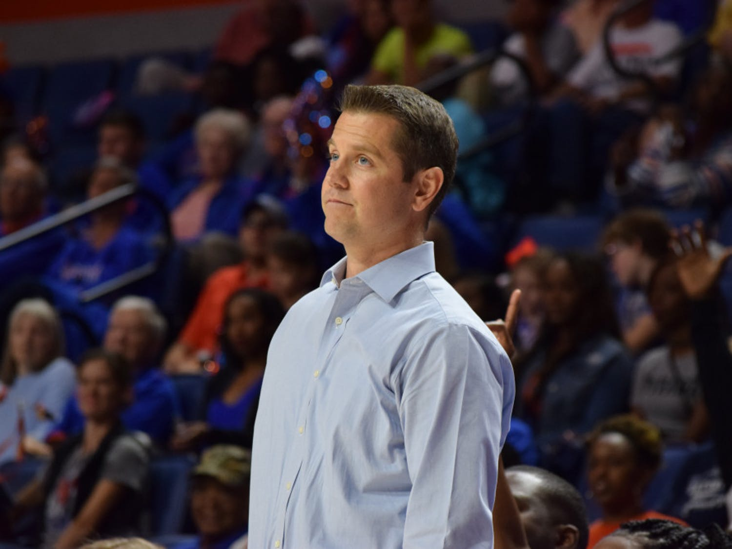 The inexperience and lack of depth in Florida's 84-54 loss to Florida State in the O'Connell Center showed just how much farther coach Cameron Newbauer has to push his Gators team.
