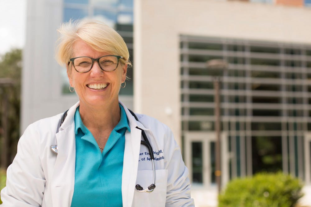 <p>Kayser Enneking, 60, has announced her run against incumbent Chuck Clemons for District 21 in the Florida House.</p>