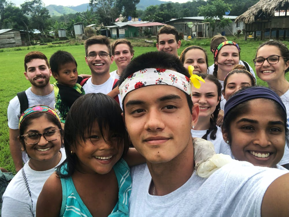 UF and FSU students part of the Global Medical Brigade in Panama in 2019.