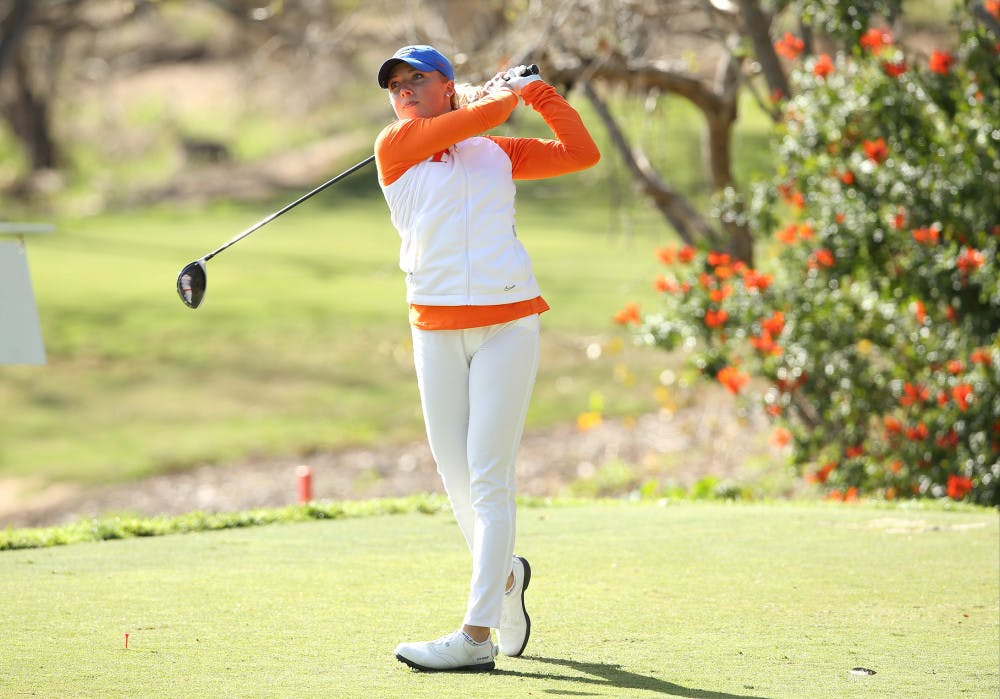 <p>Sophomore Sierra Brooks paced Florida with an even par at the Liz Murphey Collegiate Classic over the weekend.</p>