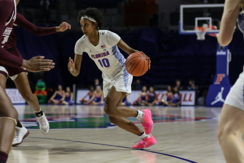 """<p><span id=""""docs-internal-guid-d9c057a8-7fff-e7cb-76aa-dd0013ac9d34""""><span>Guard Danielle Rainey averaged 8.2 points per game off the bench last season and made 28 three-pointers.</span></span></p>"""