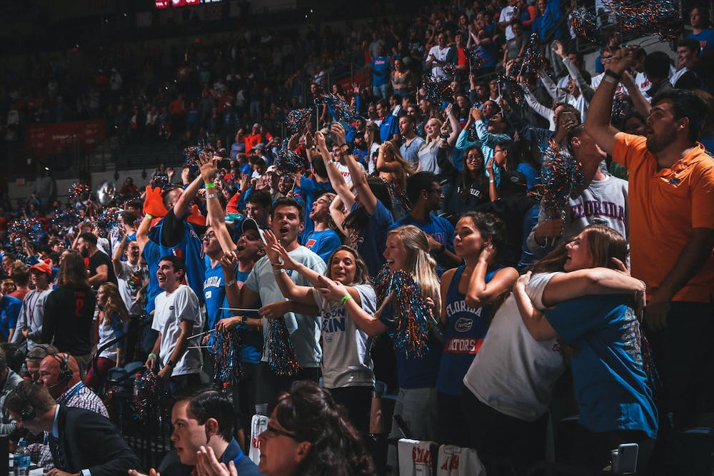 <p>The student section is home to the Rowdy Reptiles, who ignite Florida home games' intense atmosphere.</p><p><br/><br/></p>