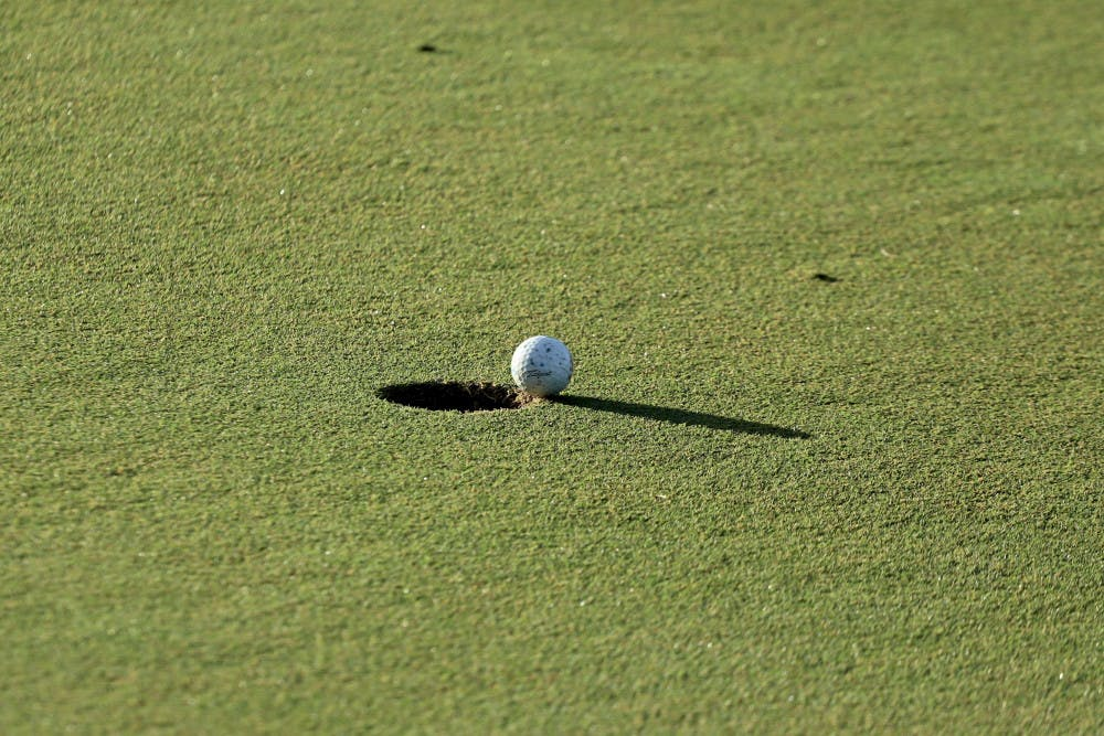 <p>Sophomore Ricky Castillo wrapped up his first major start Friday, shooting 152 on the tournament.</p>