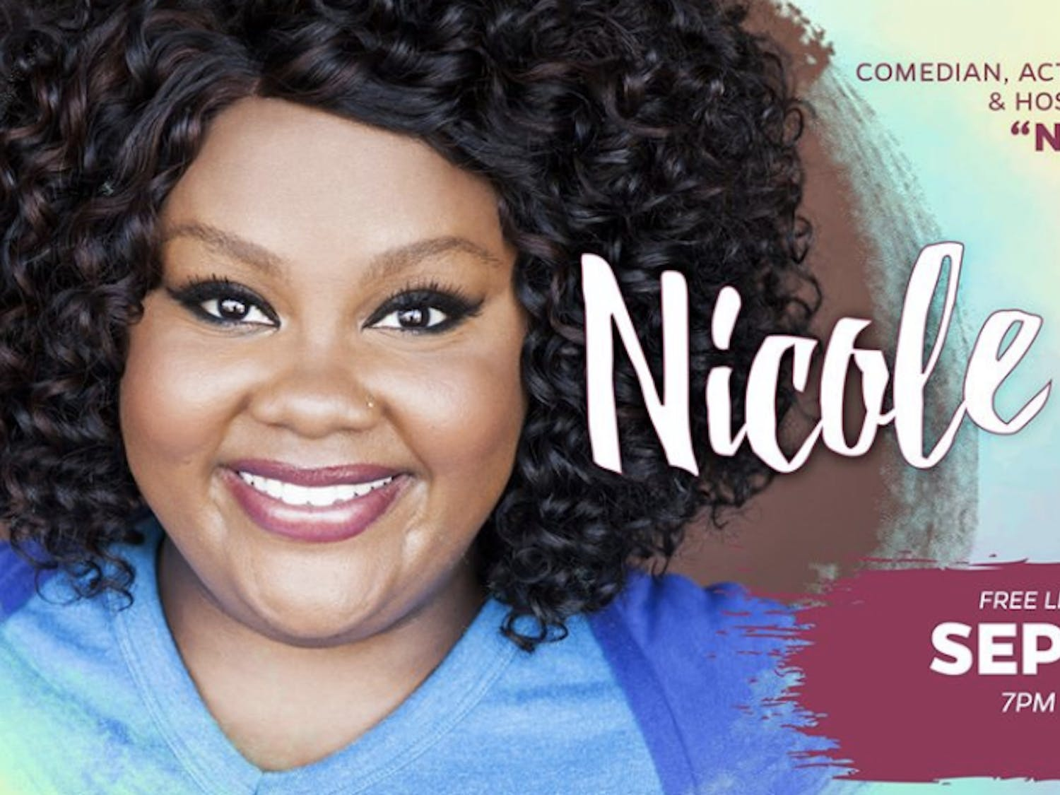 "Nicole Byers, known for her Netflix show ""Nailed It!"" and podcast ""Why don't you date me?"" will be paid $15,000 for her performance at UF."