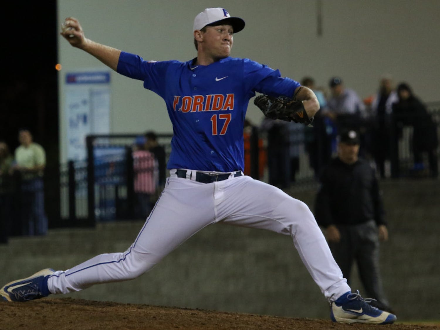Michael Byrne earned his 10th save of the season Saturday against Missouri.