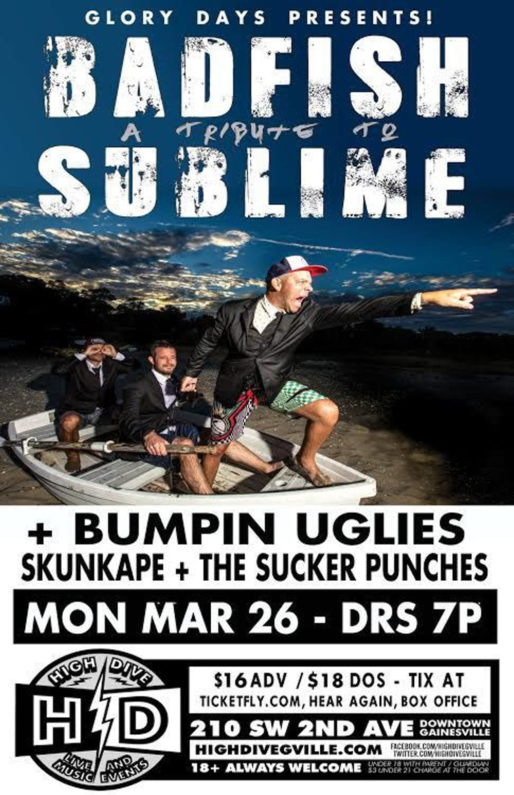 <p>This will be one of multiple Florida shows for Badfish in March.</p>