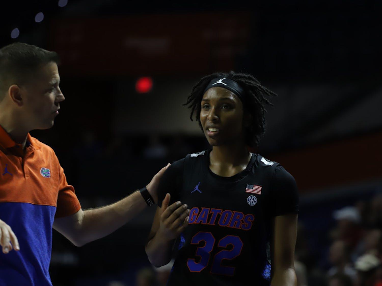 Guard Ariel Johnson scored 10 points against IU.