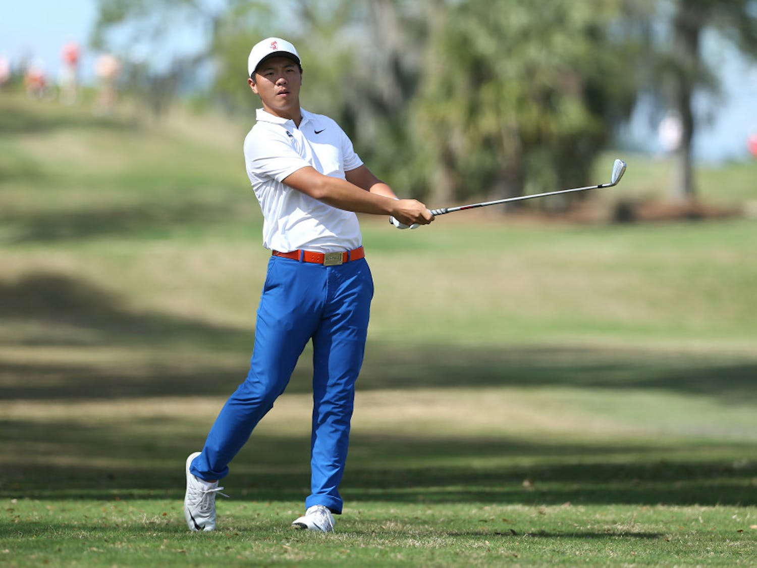 Sophomore Andy Zhang finally broke through and won his first individual championship in 2018.