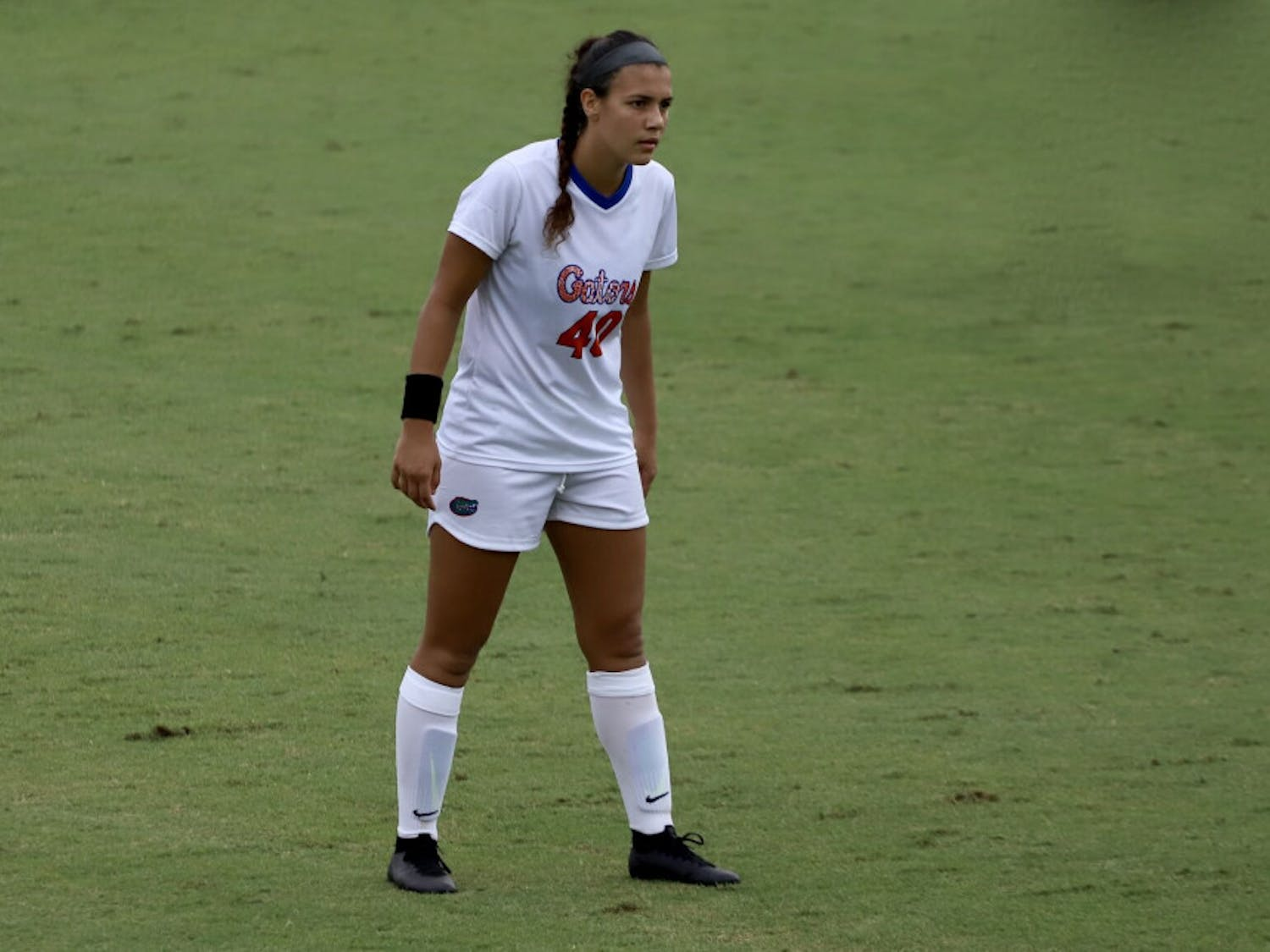 Sophomore forward Alivia Gonzalez nailed a game-winning shot in Alabama's goal to protect Florida's unbeaten record.