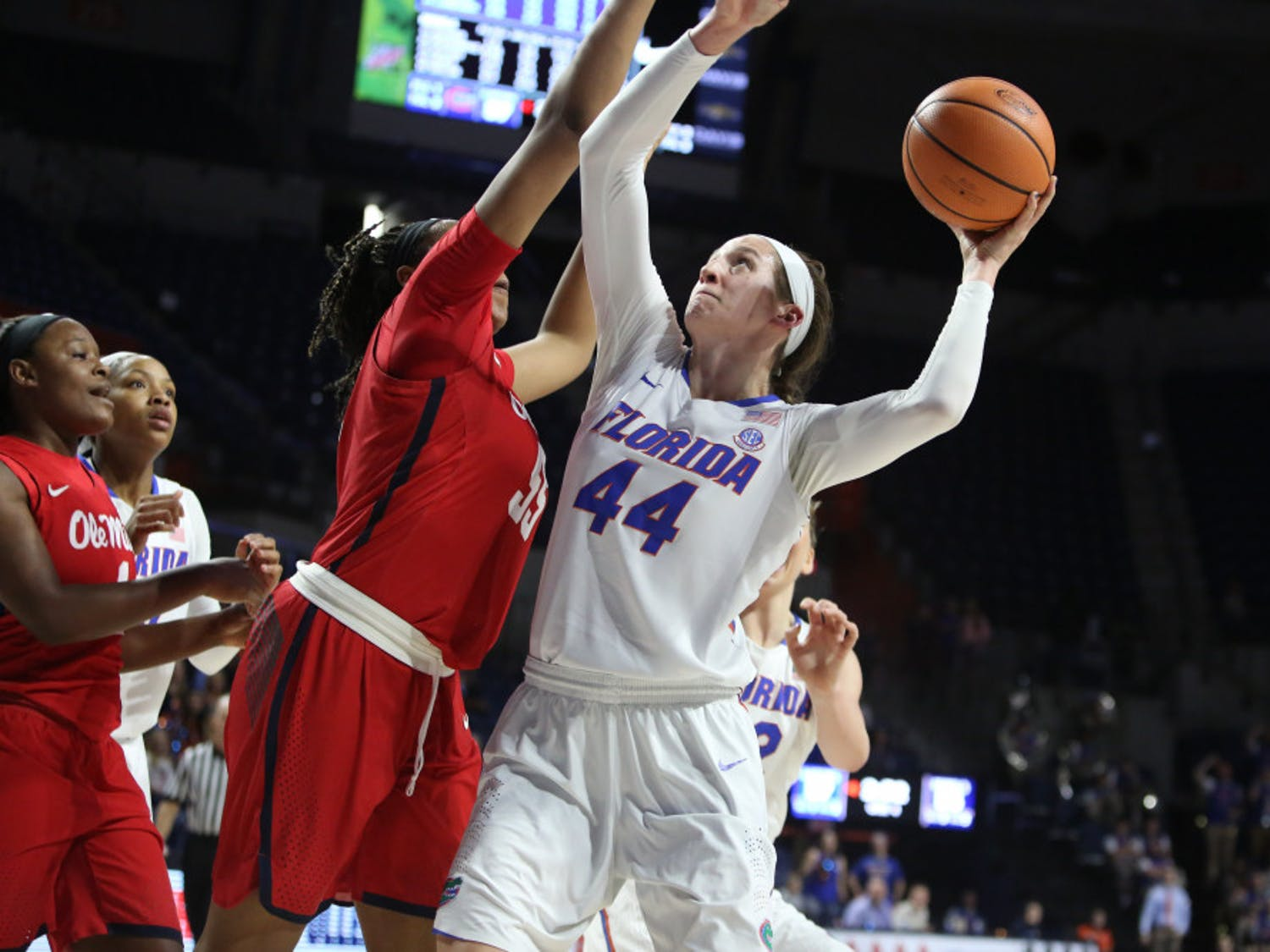 After losing its first five SEC games, the Florida women's basketball team is on a current two-game winning streak, defeating Ole Miss 61-60 on Sunday afternoon.