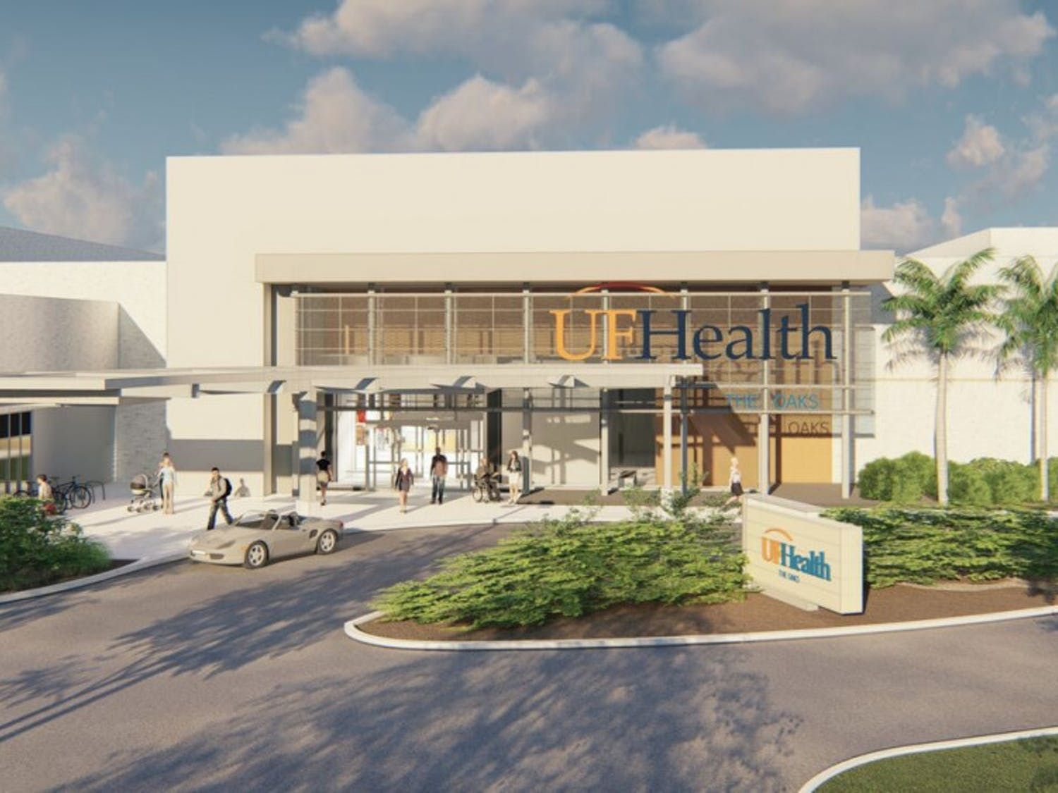 A conceptual rendering predicts how the new facilities will look.