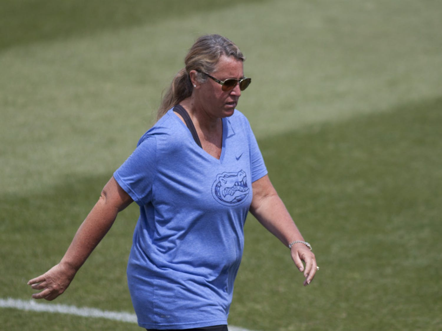 Florida lacrosse coach Amanda O'Leary recorded her 300th career victory on Saturday in UF's 16-11 win over Georgetown.