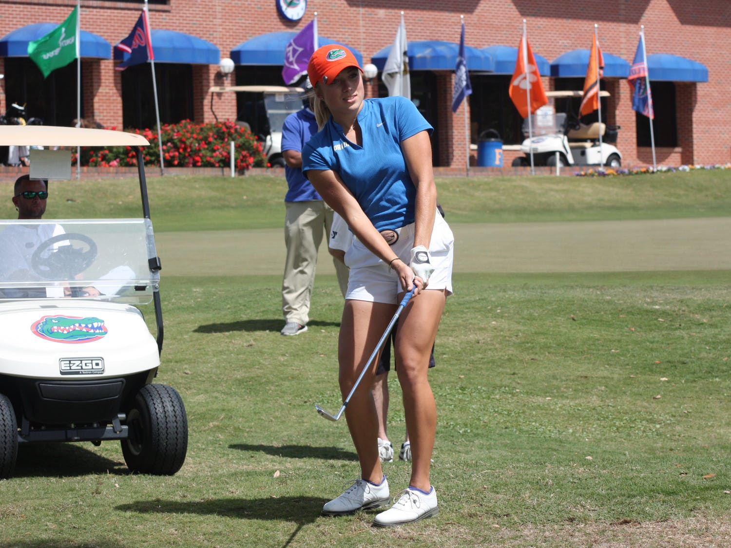 Florida golfer Sierra Brooks tied for 10th at the Augusta National Women's Amateur with a score of 1 over.