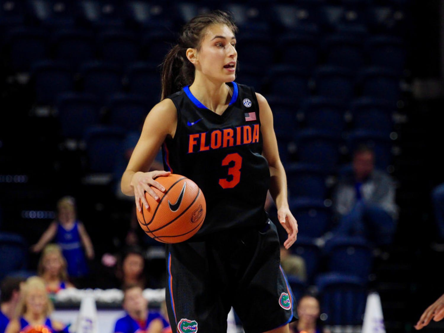 Funda Nakkasoglu, Florida's leading scorer with 15.2 points per game, struggled to put away buckets against Kentucky. She shot 3-of-15 from the field for 8 points.