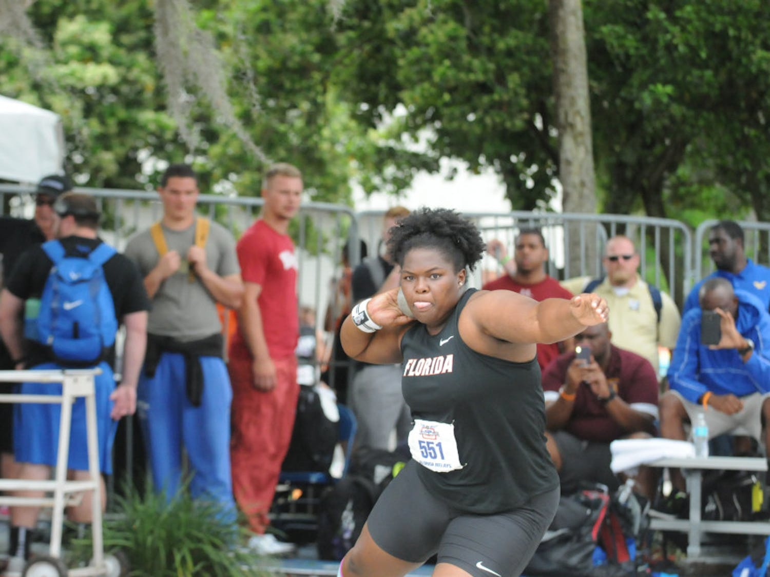 Senior thrower Lloydricia Cameron became the first Gator since 2004 to advance to the NCAA Outdoor Championships in both the shot put and discuss.