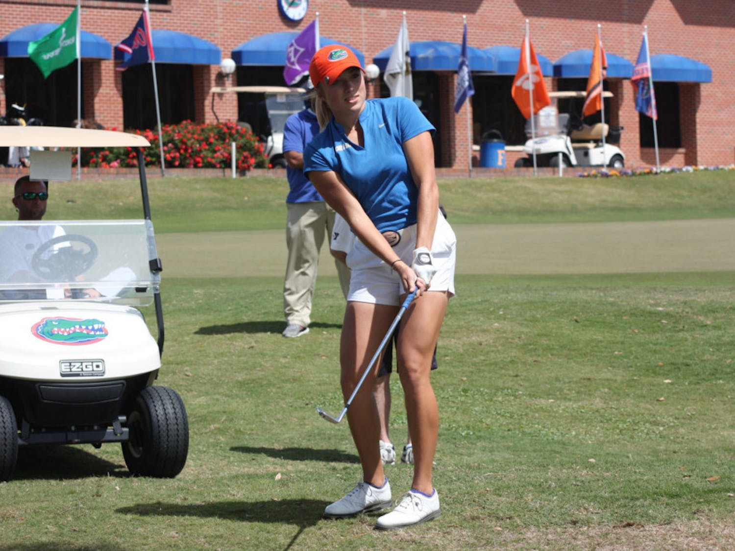 UF women's golfers Sierra Brooks (pictured) and Marta Perez were excused for theLiz Murphy Collegiate Classic after they competed in theinaugural Augusta National Women's Amatuer last weekend.