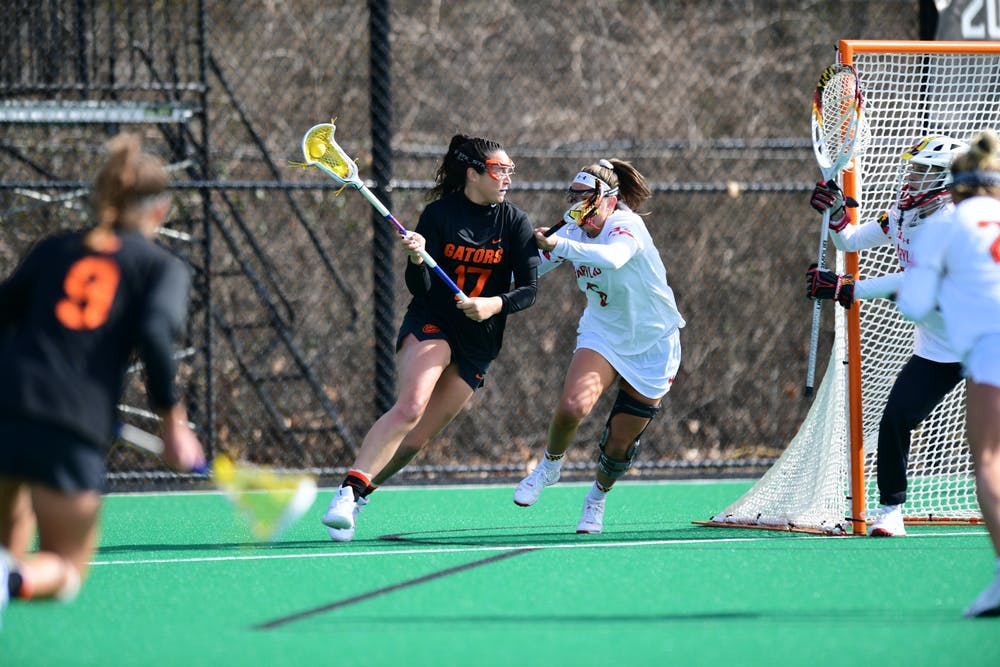 <p>Senior Shannon Kavanaugh was held to just two points against UNC Friday.</p>