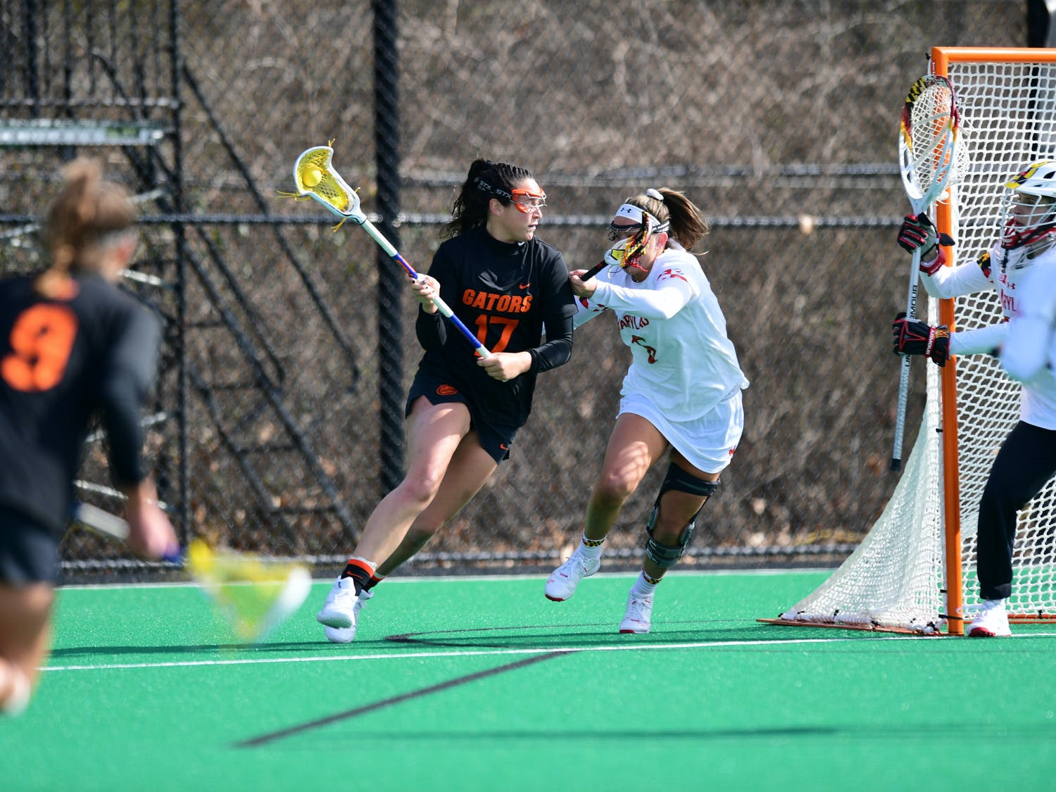 Senior Shannon Kavanaugh was held to just two points against UNC Friday.