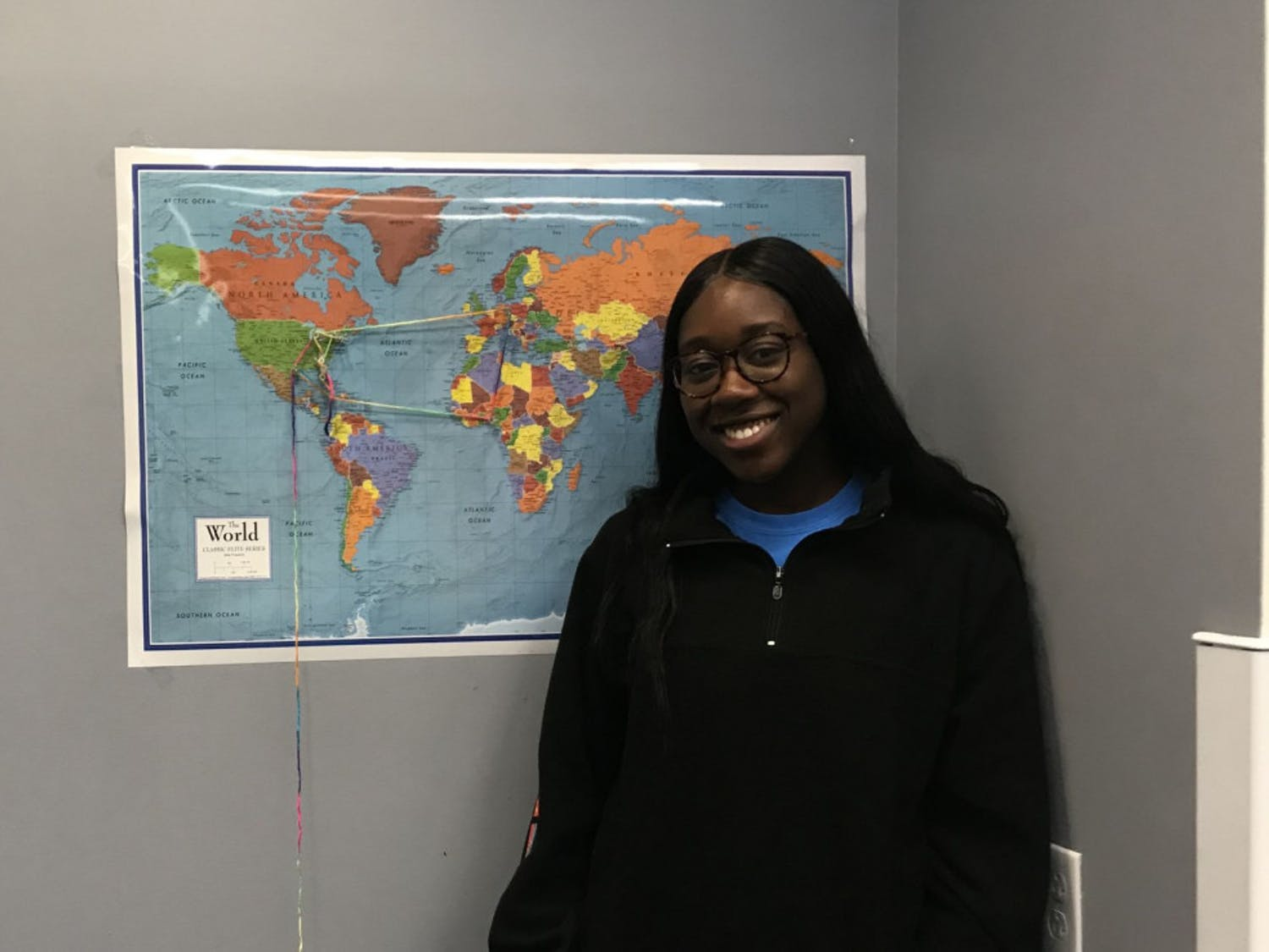 """Student Government's multicultural affairs cabinet director Robyn Louis wanted to hear from students about what UF and SG could do better. So she hosted a """"culture and coffee"""" event."""