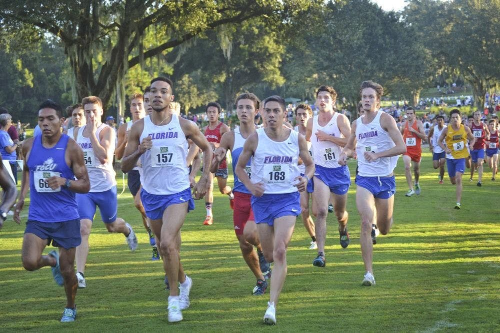 <p>The Gators placed third at the Mountain Dew Invitational Friday. It was the first UF sporting event in six months due to the COVID-19 pandemic.</p>