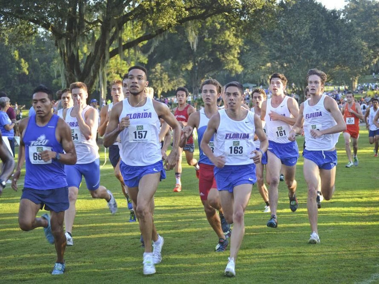 The Gators placed third at the Mountain Dew Invitational Friday. It was the first UF sporting event in six months due to the COVID-19 pandemic.