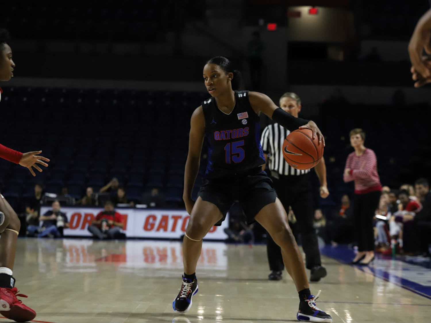 Sophomore guard Nina Rickards put up 18 points and sot 4-6 from deep in the Gators loss to the Seminoles.