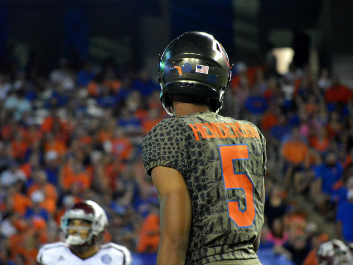 While Florida's defensive backs played well early, marked by Henderson's first quarter interception on a Missouri fade route in the end zone, they also allowed the most passing touchdowns by an opponent since Sept. 30 against Vanderbilt.