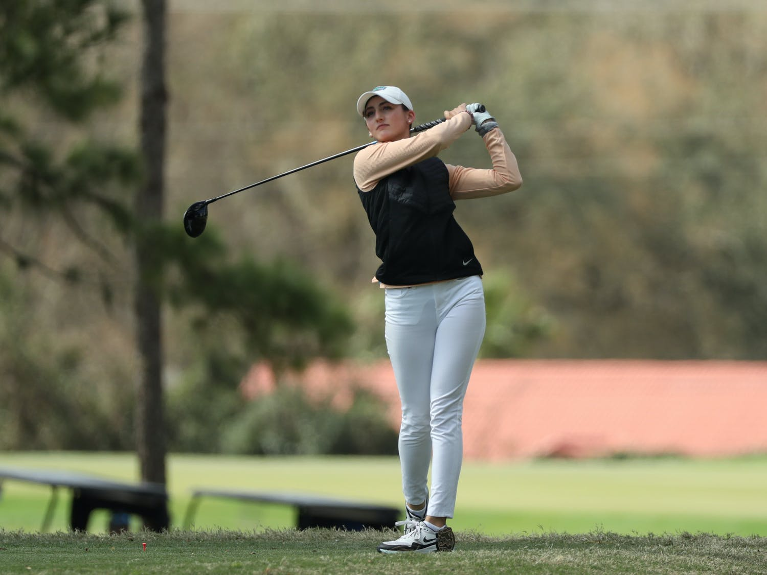 Florida Gators women's golf on Monday, February 22, 2021 at the Mark Bostick Golf Course in Gainesville, FL / UAA Communications photo by Isabella Marley