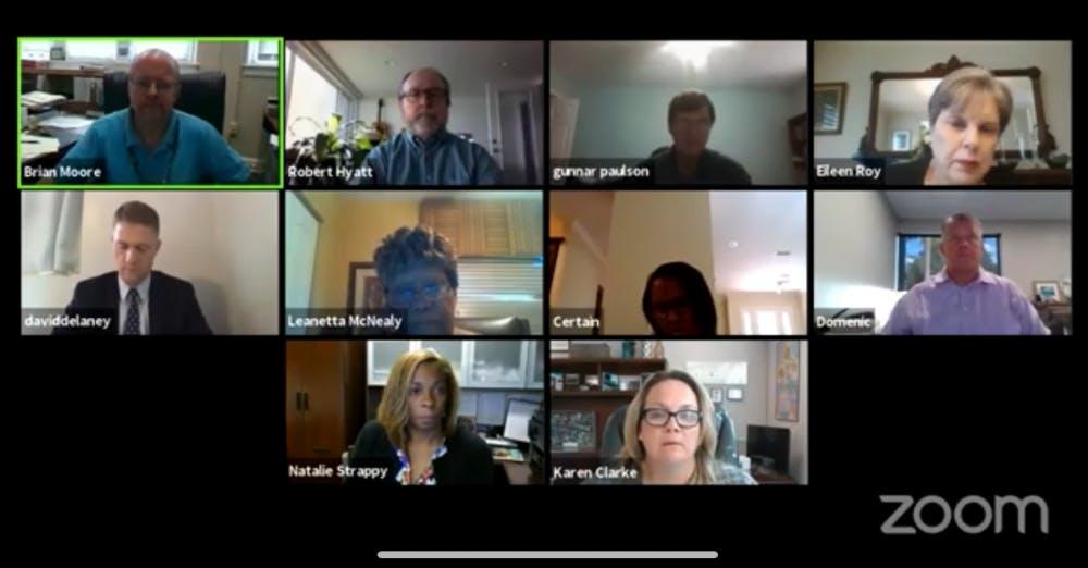 Alachua County School Board Meeting zoom