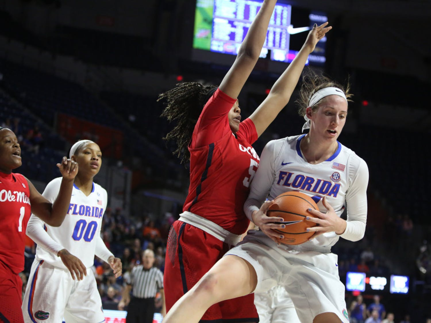 Forward Haley Lorenzen will play her last game at the O'Connell Center as a Gator Thursday night against Tennessee.