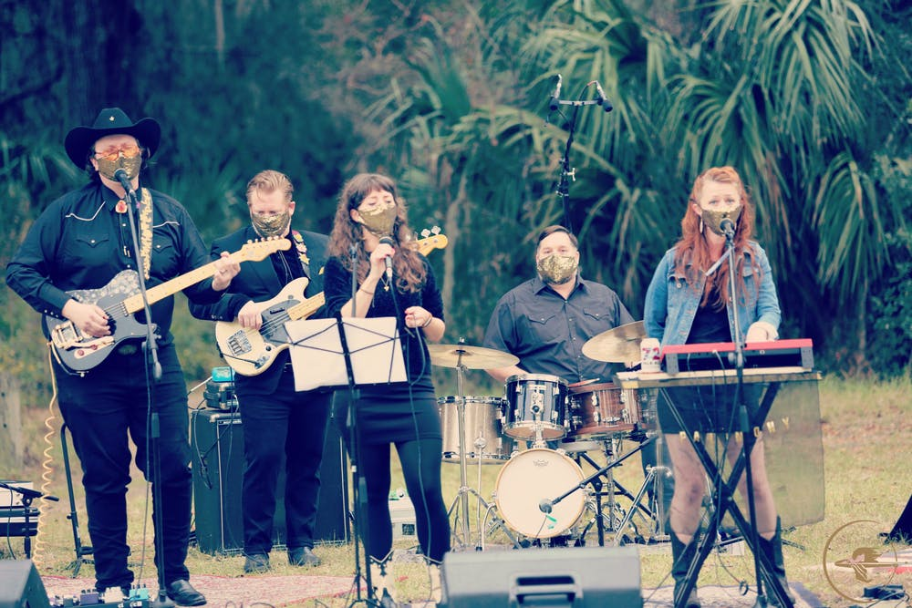 <p>Saturday's show was held at Prairie Creek Preserve, one of the natural spaces under the protection of the Alachua Conservation Trust.</p>
