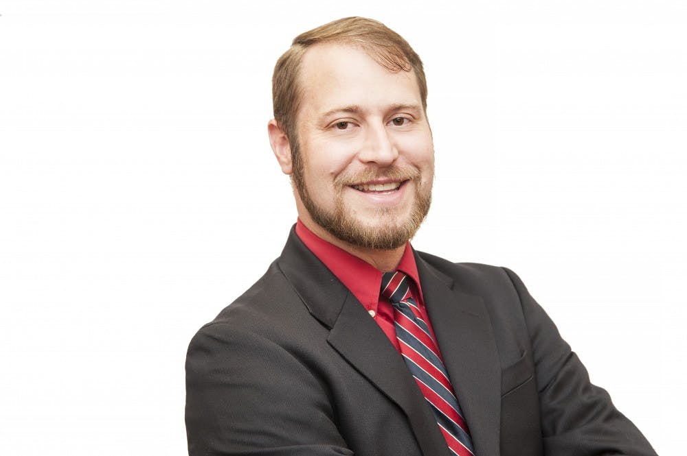 <p>Chase Meyer, a UF political science professor</p>