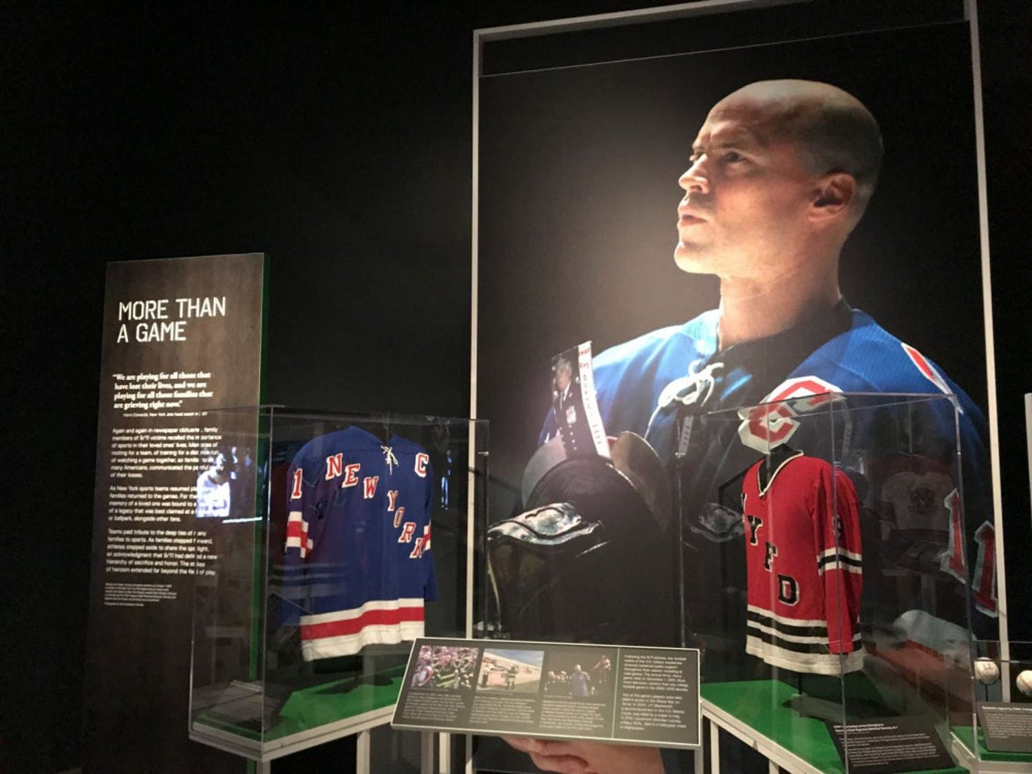 The 9/11 Museum opened an exhibit dedicated to sports culture following that tragic day in history. Mark Messier of the New York Rangers wasn't sure when the best time to resume sports again would happen, but after playing his first game back on the ice, he knew it was the right time.