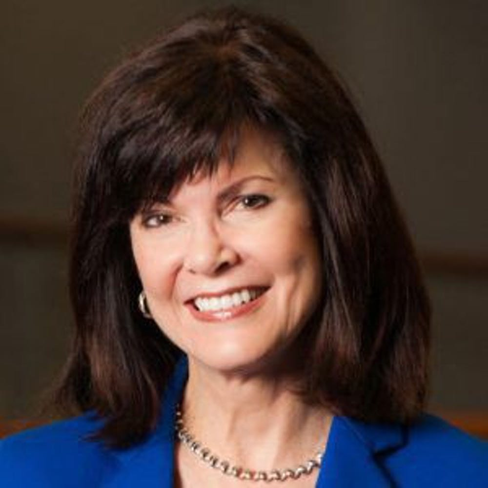 <p><span>Diane McFarlin, the dean of UF's College of Journalism and Communications, was named a member of Florida Trend Magazine's Florida 500 list. She attributes her success to the team she works with.&nbsp;</span></p>